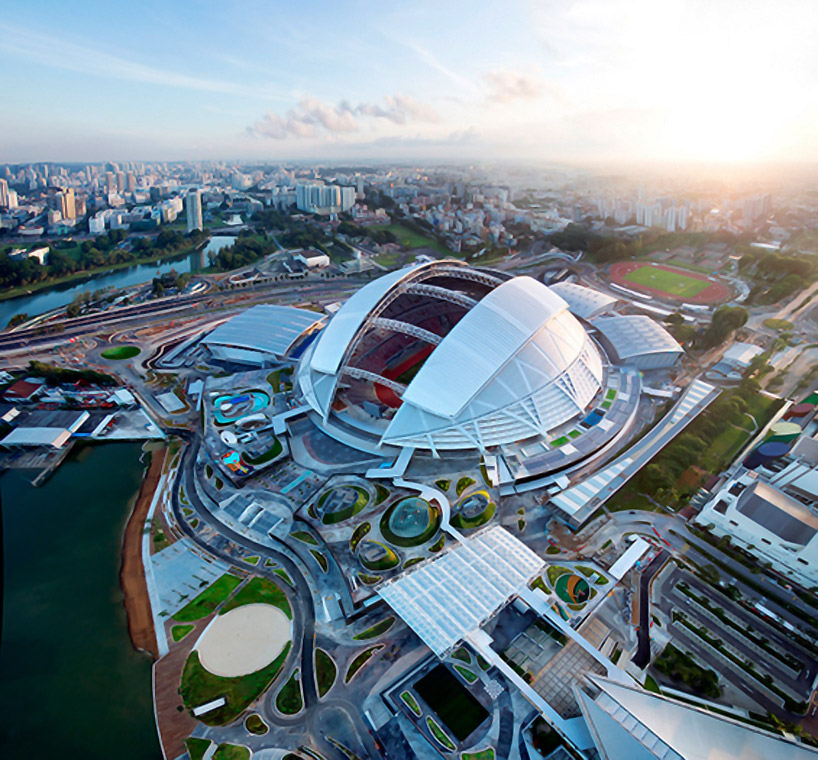 Dp Architects Designs National Sports Hub In Singapore Interior Design Blogs