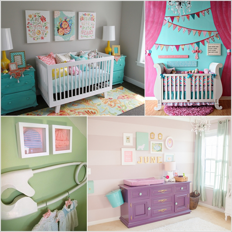 15 Adorable Ideas to Decorate Baby Nursery Walls 78832 thumb