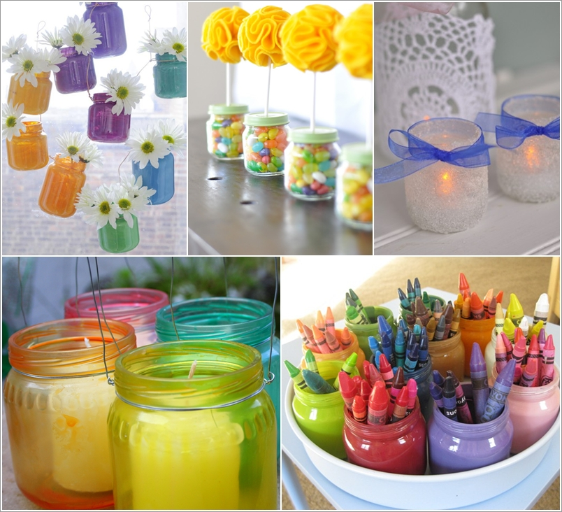 15 Awesome Ideas To Recycle Baby Food Jars For Home Decor Interior Design Blogs