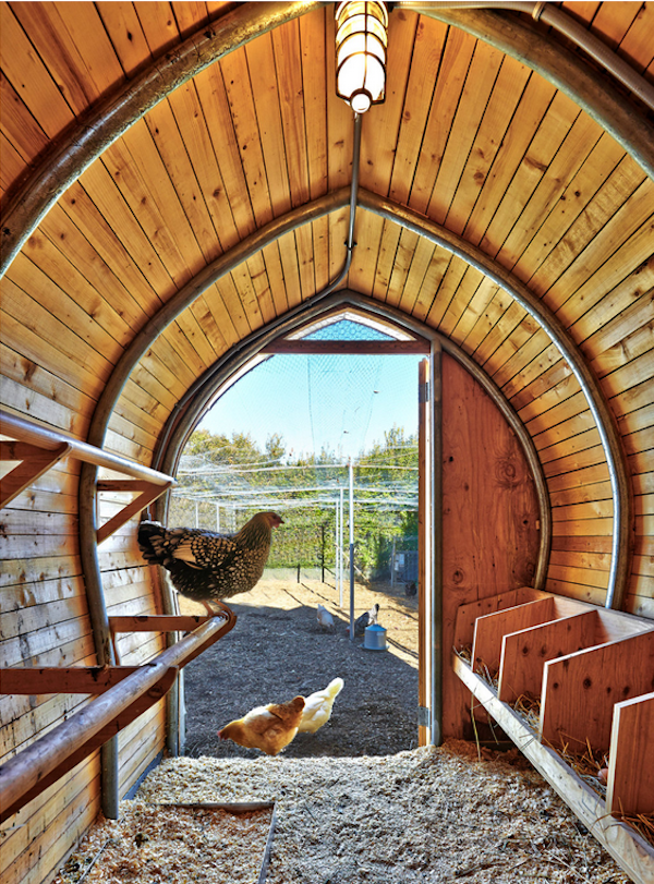 Modern Chicken Coop By Architecture Research Office (ARO)