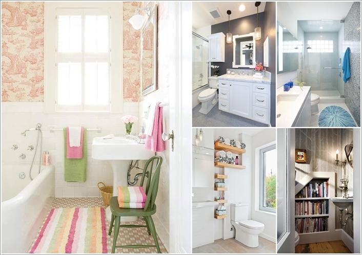 15 Fabulous Small Bathroom Makeover Ideas 110615 thumb