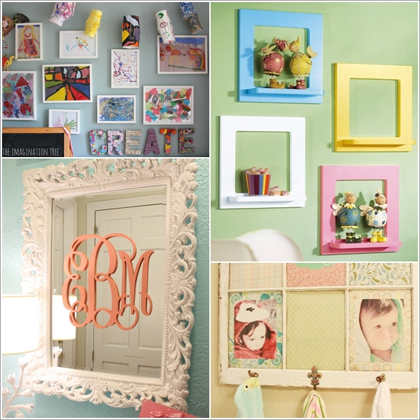 10 Amazing Ideas to Decorate Your Home with Frames 87670 thumb