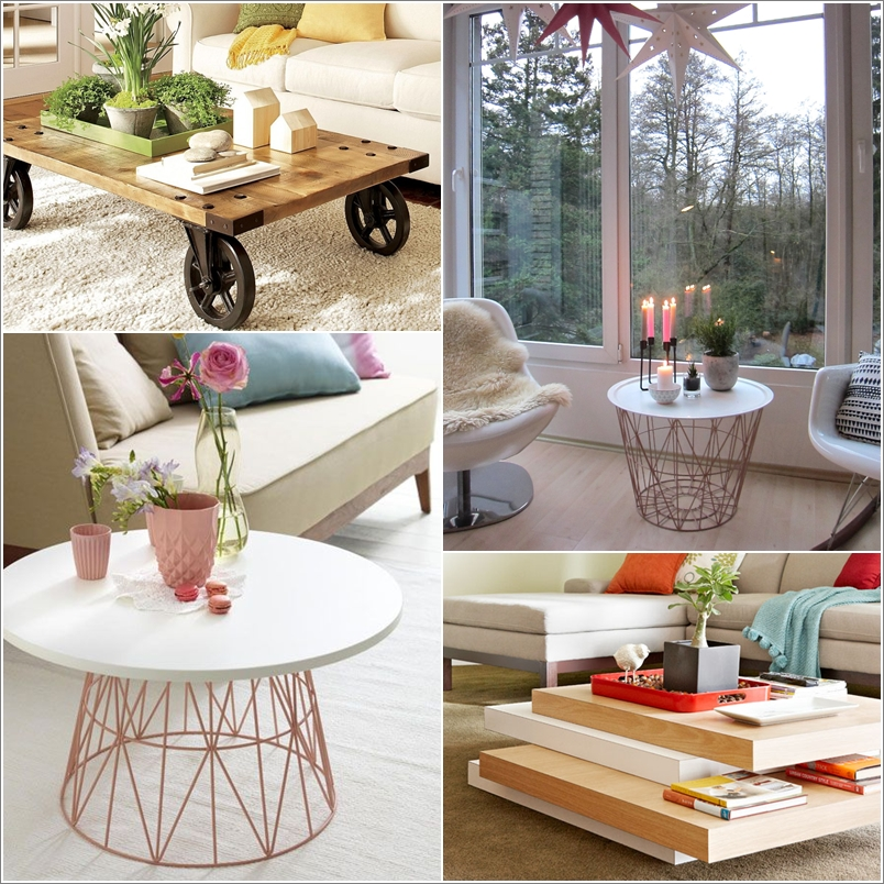 15 Awesome DIY Coffee Table Ideas for Your Living Room 91186 thumb