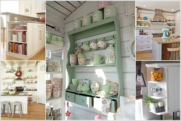 15 Fabulous Shelving Ideas for Your Kitchen 114598 thumb