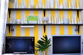10 Home Office Accent Wall Ideas That Unleash The Magic Of Stripes