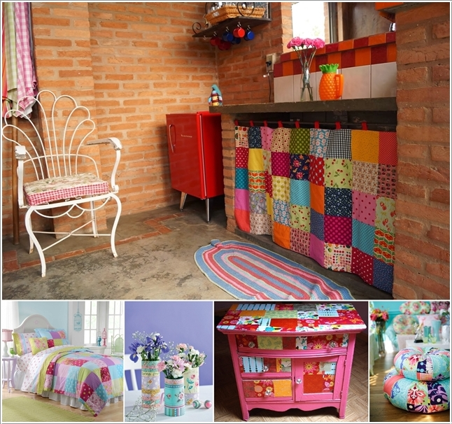 15 Awesome Ideas to Decorate Your Home with Patchwork 130844 thumb