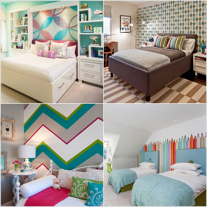 15 Kids' Room Accent Wall Ideas That You'll Admire 133314 thumb