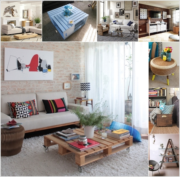 15 Living Room Projects Made from Recycled Materials 136971 thumb