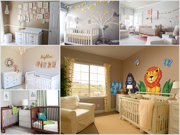 15 Adorable Ways to Liven Up a Nursery with Neutral Colors 137785 thumb