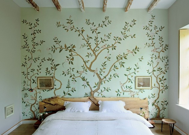 Bedroom Ideas 40 Beautiful Wallpapers For A Spring Bedroom Decor Enchanting Bedroom Designs Wallpaper