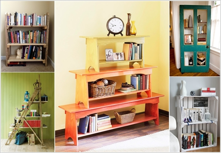 10 Amazing Bookcase Ideas From Recycled Materials Interior Design Blogs