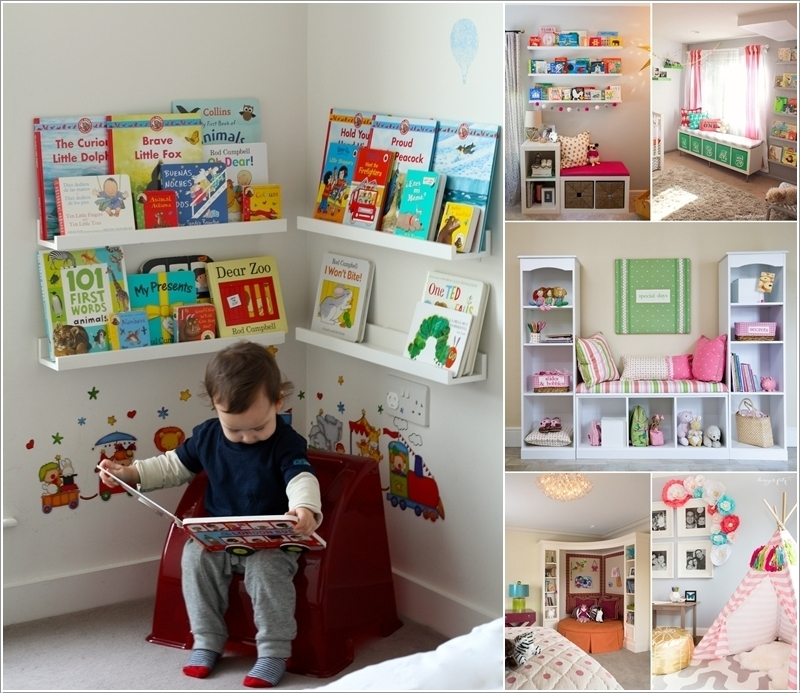15 Creative Ways to Design a Reading Nook for Your Kids 159611 thumb