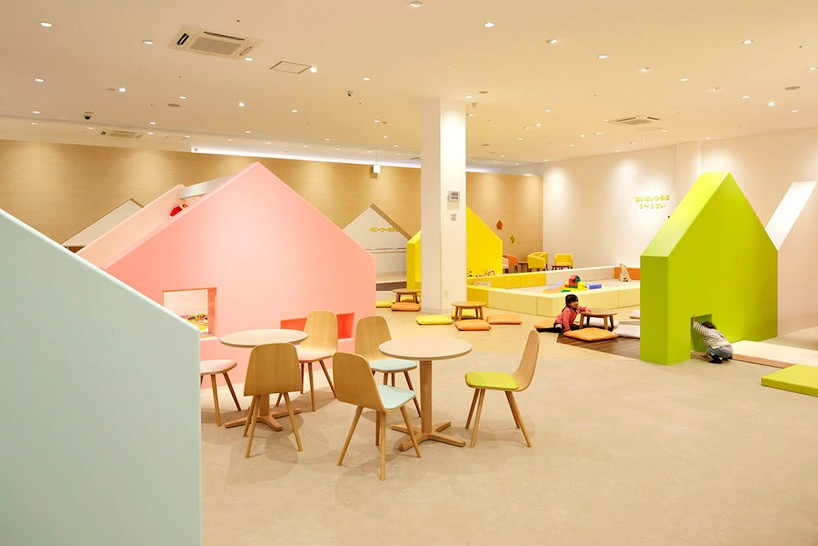 emmanuelle moureaux conceives indoor playground as a colorful rh interiordesignblogs eu  indoor play area interior design