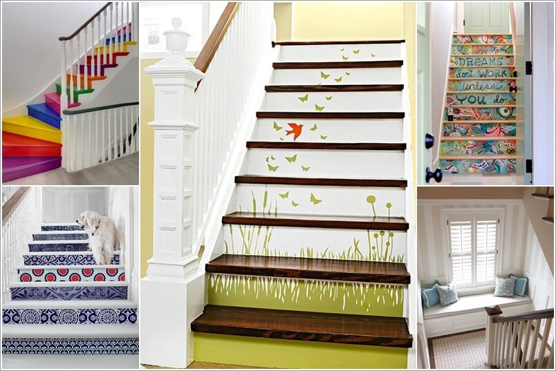 15 Inspiring and Cool Ideas to Update Your Staircase 175777 thumb