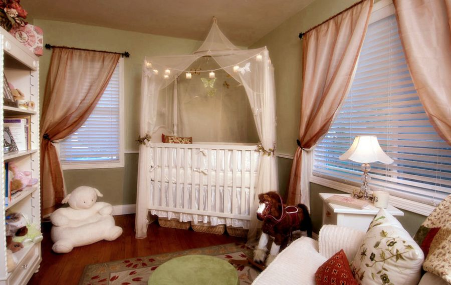 15 Adorable Crib Canopy Designs For Eclectic Nurseries 176991 thumb