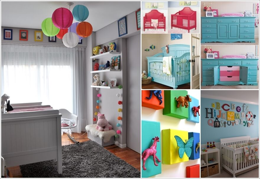 12 Adorable Ideas to Add Color Pops to Your Baby's Nursery 178985 thumb
