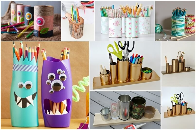 10 Cool DIY Pencil Holders for You to Make 183836 thumb