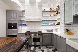 Chic Industrial Style Kitchen With A Breezy Ambiance [Design: Matiz  Architecture U0026 Design]