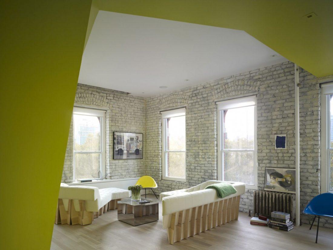 Sculptural Loft Renovation Mixes Past And Present \u2013 Interior ...