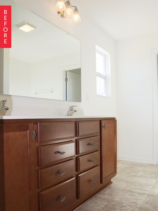 Before & After: Builder Basic to Rustic Bath for Under $400 — Hometalk 192947 thumb