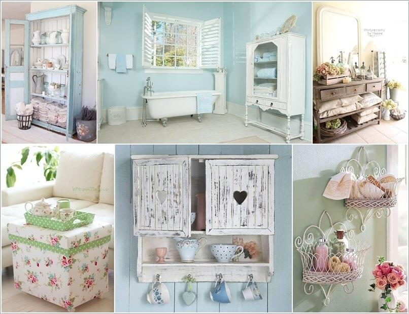 15 Wonderful Shabby Chic Home Storage Ideas 195833 thumb