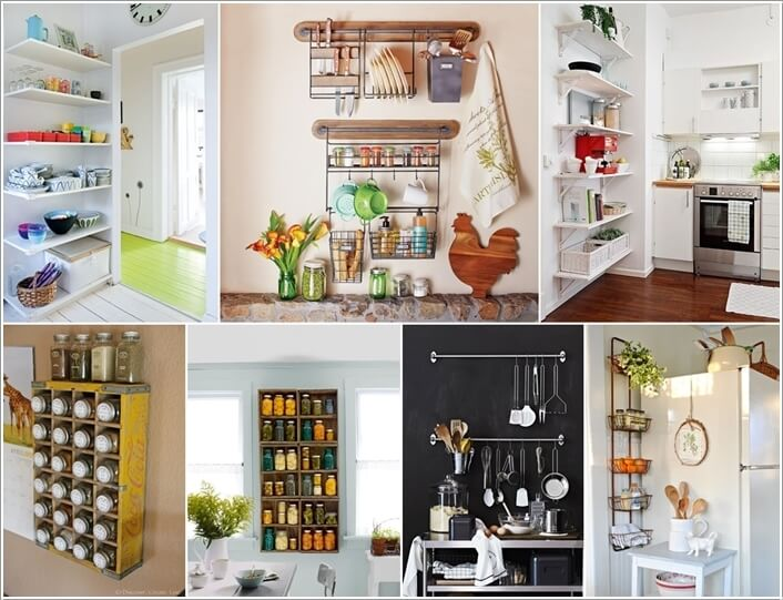 15 Amazing Kitchen Wall Storage Solutions 206476 thumb