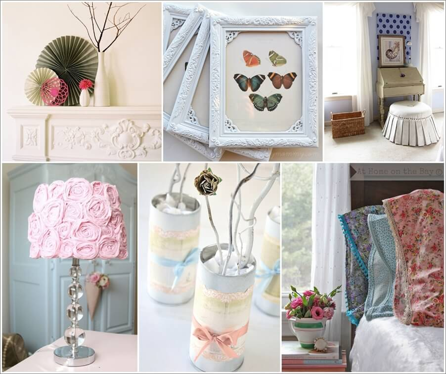 10 Stunning DIY Shabby Chic Home Decor Projects – Interior ...