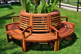 Tree Bench Ideas for Added Outdoor Seating 215669 thumb
