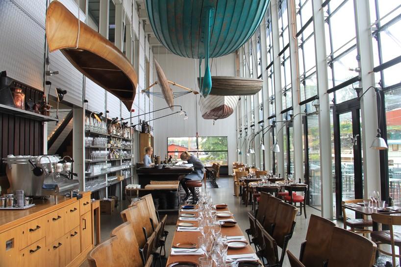 Mats Fahlander + Agneta Pettersson Restore Industrial Essence In  Stockholmu0027s Oaxen Resturant U2013 Interior Design Blogs