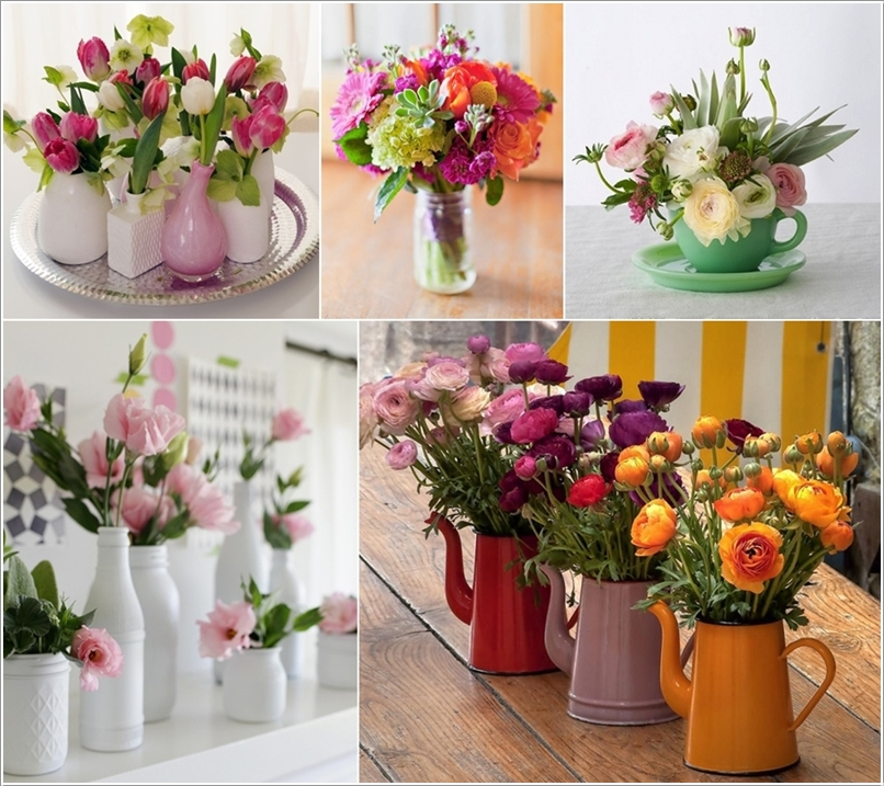 12 Beauteous Recycled Flower Vase Ideas 218563 thumb