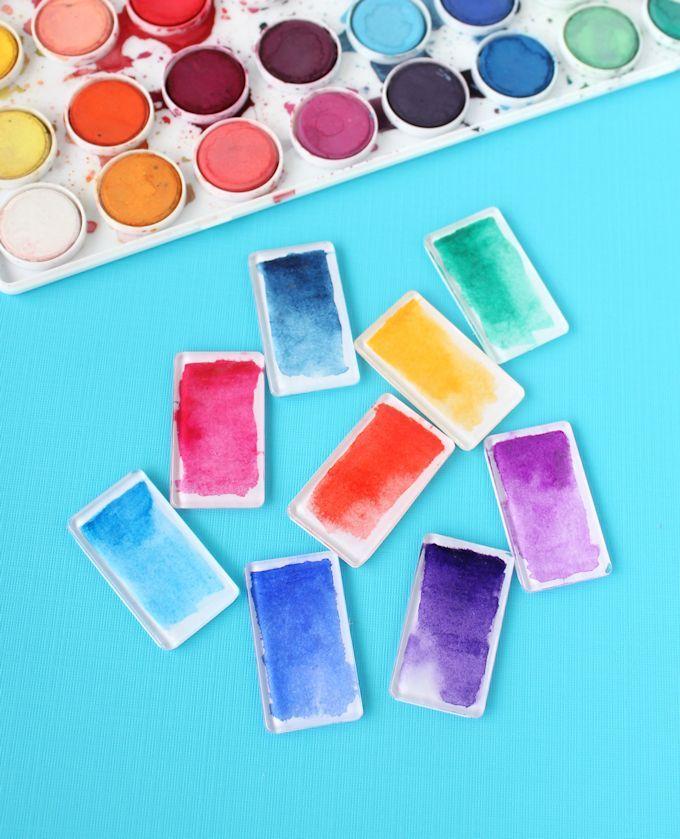 20 Darling Ways to DIY with Watercolors 219529 thumb