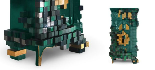 pixelated design boca do lobos piccadilly cabinet interior design blogs - Pixelated Interior Design