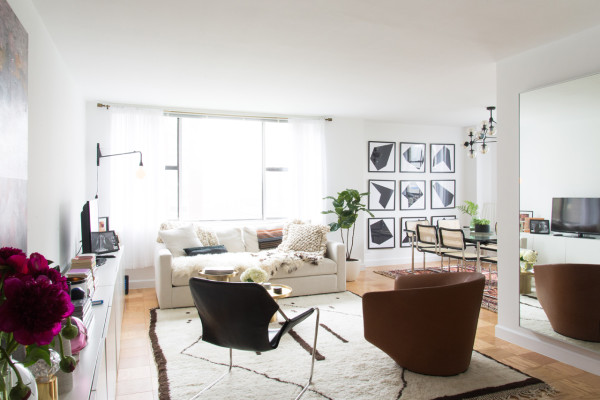 A Homepolish Designer Designs Her Own NYC Abode A Homepolish Designer  Designs Her Own NYC Abode