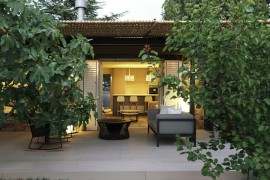 Wicker and Metal Pergola Transforms Mountain Guest House in Barcelona 264247 thumb