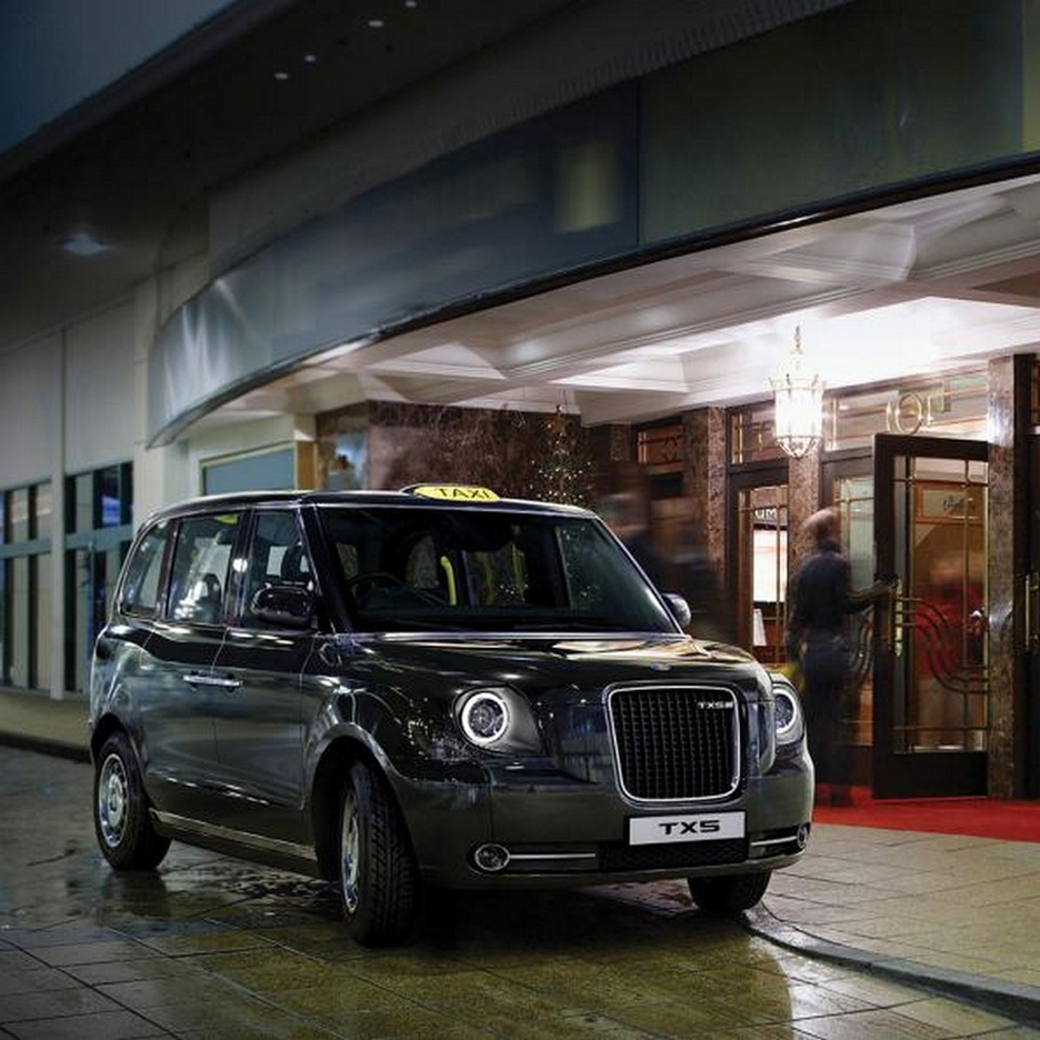 The London Taxi Company Reveals New Generation Battery Ed Black Cab
