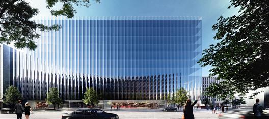 REX Designs Hyper Transparent Office Building In Washington DC