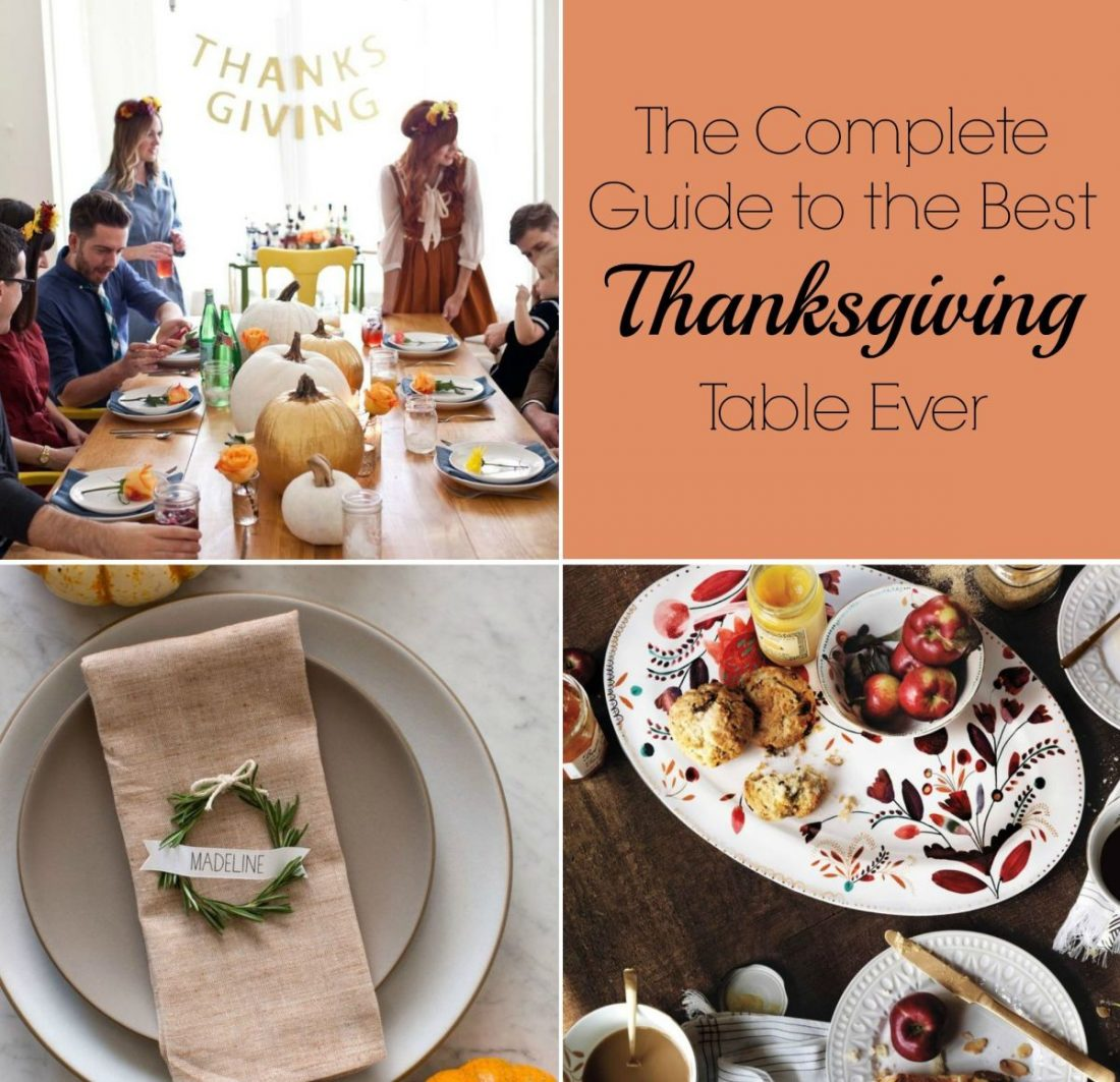 The Complete Guide to The Best Thanksgiving Table Ever The Complete Guide to The Best Thanksgiving Table Ever 289980 thumb