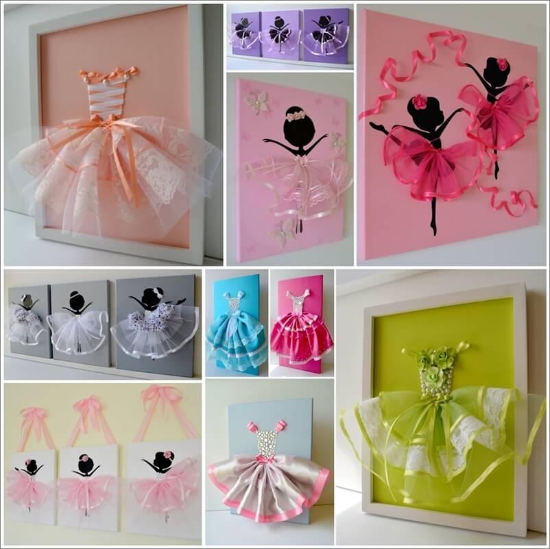 Make A Cute Tutu Dress Wall Art With Ribbons Make A Cute Tutu Dress Wall Art With Ribbons 302388 thumb