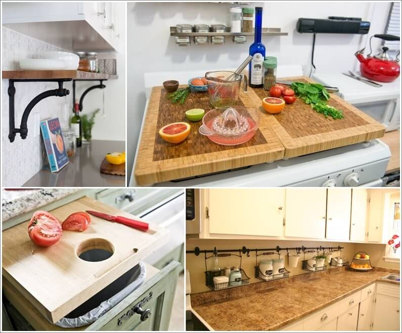 Add More Counter Space Through These Clever Ideas Add More Counter Space Through These Clever Ideas 302931 thumb