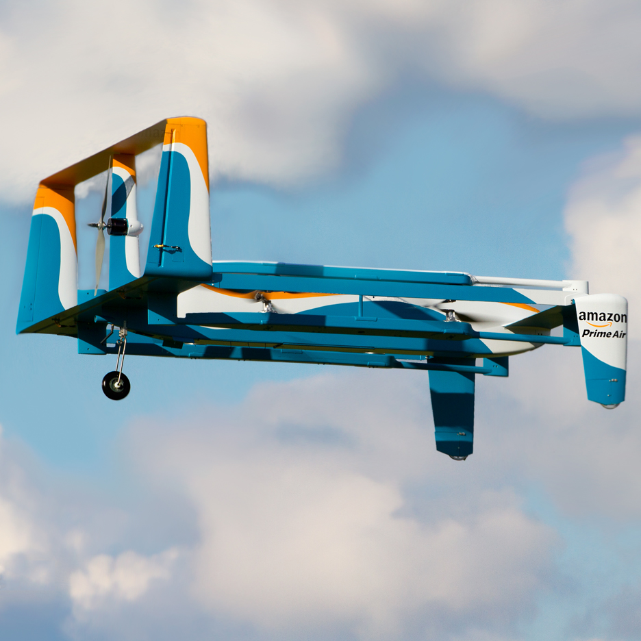 Amazon unveils video of its Prime Air delivery drones in action Amazon unveils video of its Prime Air delivery drones in action 306242 thumb