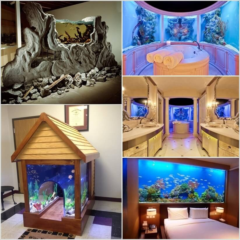 these crazy home aquariums will take your breath away interior design blogs. Black Bedroom Furniture Sets. Home Design Ideas