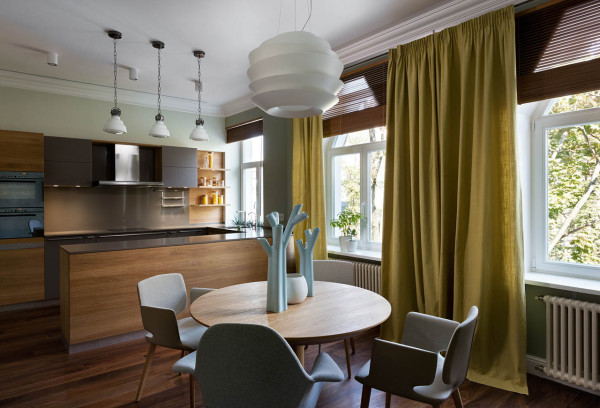 A Flat in Kiev That Focuses on Natural Materials A Flat in Kiev That Focuses on Natural Materials 306428 thumb