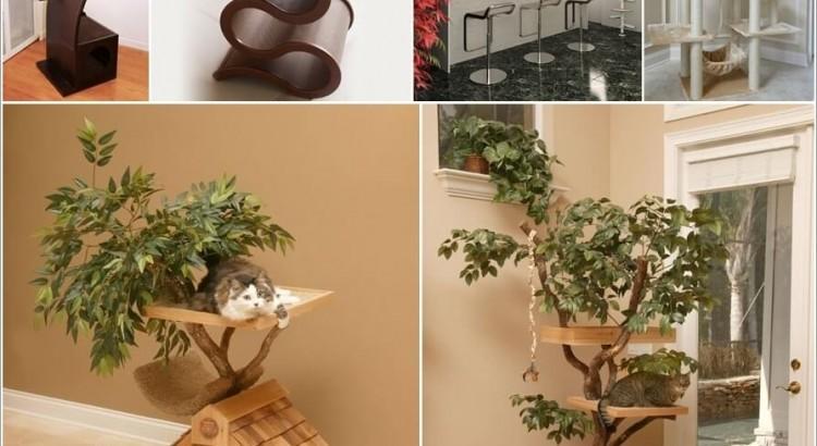 Cool Cat Tree Furniture Designs Your Cat Will Love Cool Cat Tree Furniture Designs Your Cat Will Love 306918 thumb 750x410