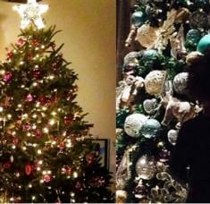 Interior Design Blogs Inspiring decorations of celebrities' Christmas trees beyonce 1