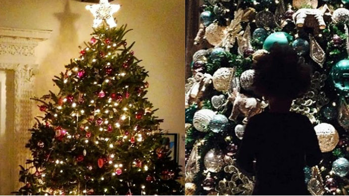 Interior Design Blogs Inspiring decorations of celebrities' Christmas trees beyonce 1 celebrities Christmas trees Inspiring decorations of celebrities Christmas trees Interior Design Blogs Inspiring decorations of celebrities Christmas trees beyonce 1