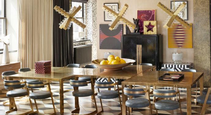 capa Kelly Wearstler Get inspired with Kelly Wearstler's dining room ideas capa