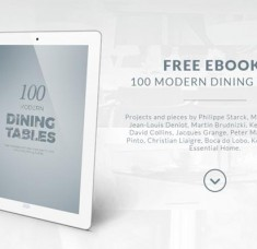 "Pick the perfect dining table with ""100 Modern Dining Tables"" e-Book (Copy)"