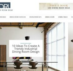 Buffets and Cabinets blog - Top 18 interior design blogs of 2016 capa