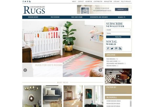 Contemporary Rugs blog - Top 18 interior design blogs of 2016 (Copy) interior design blogs Top 17 interior design blogs of 2016 Contemporary Rugs blog Top 18 interior design blogs of 2016 Copy