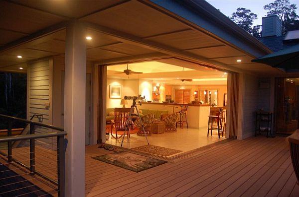 comfortable deck